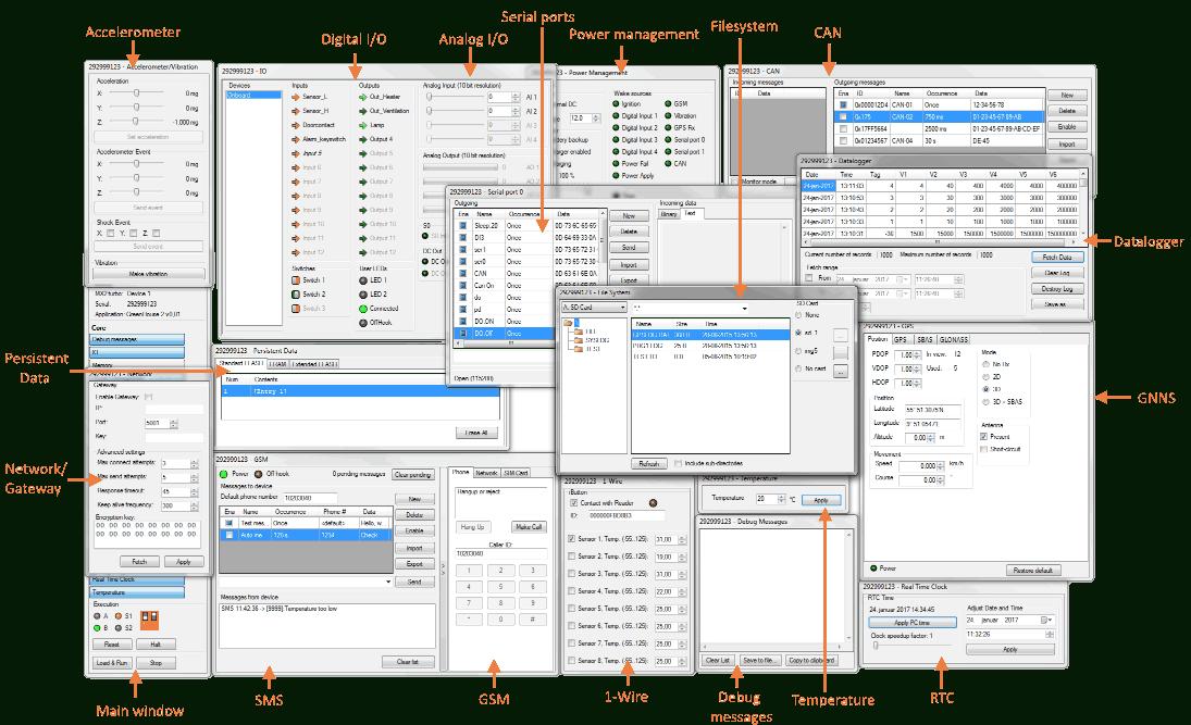 IEC 61131-3 ST IDE/Simulator für IoT/M2M